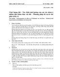 Tiêu chuẩn Việt Nam TCVN 5962:1995 - ISO 11269/1:1993