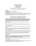 Tiêu chuẩn Việt Nam TCVN 6089:2004 - ISO 249:1995