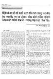 Một số cơ sở đề xuất việc đổi mới công tác đào tạo nghiệp vụ sư phạm cho sinh viên ngành Giáo dục Mầm non ở Trường Đại học Phú Yên - ThS. Nguyễn Thùy Vân