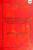 Báo cáo kết quả nghiên cứu đề tài: Nghiên cứu bảo tồn và phát huy giá trị văn hóa và các dân tộc vùng Phong Nha, Kẻ Bàng