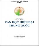 Giáo trình Văn học hiện đại Trung Quốc: Phần 1