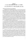 Bài giảng Phân bón và độ phì - Chương 3: Các quan hệ cơ bản giữa đất và cây trồng