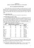 Bài giảng Phân bón và độ phì - Chương 9: Quản lý độ phì nhiêu đất đai và phân bón