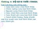 Bài giảng Vi điều khiển: Chương 4 - Bộ định thời (Timer)