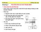 Bài giảng Chi tiết máy: Chương 3 - TS. Phấn Tấn Hùng