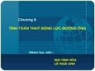 Bài giảng Chương 8: Tính toán thủy động lực đường ống