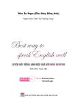 Ebook Luyện nói tiếng Anh hiệu quả