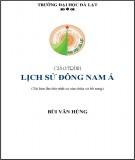 Giáo trình Lịch sử Đông Nam Á (Tái bản lần thứ nhất có sửa chữa và bổ sung): Phần 2
