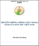 Ebook Truyền thống chống giặc ngoại xâm của dân tộc Việt Nam: Phần 1