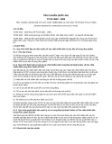 Tiêu chuẩn Quốc gia TCVN 4832:2009