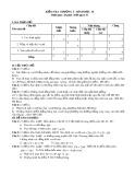 Đề kiểm tra chương 1 môn: Hình học 10