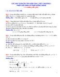 Các bài toán ôn tập kiểm tra 1 tiết chương 1: Phép dời hình và phép đồng dạng (Có hướng dẫn giải)