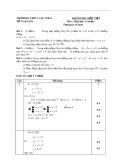 Đề kiểm tra Hình học 11 có đáp án - Trường THPT Lấp Vò 3