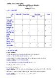 Đề kiểm tra chương 1 môn: Toán 6 - Trường THCS Trưng Vương