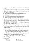 3 đề thi thử đại học có đáp án môn: Hóa học - GV. Vũ Khắc Ngọc