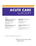 Ebook Acute care surgery