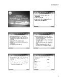 Bài giảng Tài chính doanh nghiệp 1: Chương 4 - Trần Huỳnh Kim Thoa