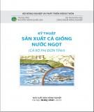 Hướng dẫn sản xuất cá giống nước ngọt (Cá rô phi đơn tính)