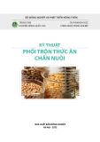 Ebook Kỹ thuật phối trộn thức ăn chăn nuôi