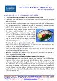 Bài giảng Hóa học và vấn đề xã hội - Ngô Xuân Quỳnh