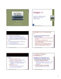 Lecture Fundamentals of database systems: Chapter 11 - Emasri, Navathe