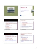 Lecture Fundamentals of database systems: Chapter 10 - Emasri, Navathe