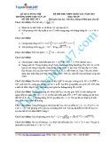 Đề thi thử THPT quốc gia năm 2015 có đáp án môn: Toán - Trường THPT Chu Văn An (Đề số 1)