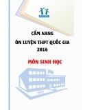 Cẩm nang ôn luyện THPT quốc gia 2006 môn: Sinh học