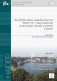 The Comprehensive Urban Development Programme in Hanoi Capital City of the Socialist Republic of Vietnam (HAIDEP): Vol.2 Prefeasibility Studies