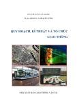 Kĩ thuật quy hoạch và tổ chức giao thông