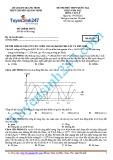 Đề thi thử THPT Quốc gia đợt 1 năm 2015 môn Vật lý - Mã đề 134