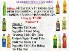 Bài thuyết trình: Xác định thị trường, phân tích thị trường và định vị sản phẩm của Công ty TNHH Number 1