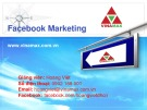 Bài giảng Facebook Marketing - GV. Hoàng Việt