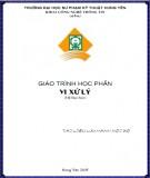 Giáo trình học phần Vi xử lý (hệ đại học): Phần 1