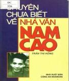 Tìm hiểu về nhà văn Nam Cao: Phần 2