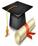 Khóa luận tốt nghiệp: Thiết kế hệ thống xử lý nước thải bột giấy của Công ty Nông Công Nghiệp TNHH Tam Hiệp, xã Long Thành, huyện Bến Cầu, tỉnh Tây Ninh công suất 250 m3/ngày đêm