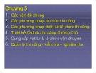 Bài giảng Tổ chức thi công đường ô tô: Chương 5,6 - ThS. Nguyễn Biên Cương