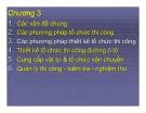 Bài giảng Tổ chức thi công đường ô tô: Chương 3,4 - ThS. Nguyễn Biên Cương