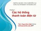 Bài giảng Thương mại điện tử: Chương 7 - ThS. Phạm Đình Sắc