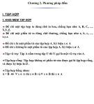 Bài giảng Toán rời rạc và lý thuyết đồ thị - Chương 2: Phương pháp đếm