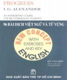 Ebook 96 bài dịch Việt ngữ và từ vựng: Phần 1