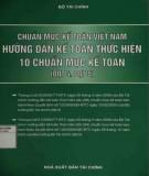 Hướng dẫn kế toán thực hiện 10 chuẩn mực kế toán - Chuẩn mực kế toán Việt Nam: Phần 1