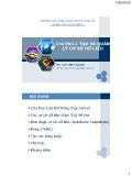 Bài giảng SQL server: Chương 2 - Lê Thị Minh Nguyện