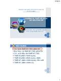 Bài giảng Cơ sở dữ liệu phân bố: Chương 4 - Th.S Lê Thị Minh Nguyện