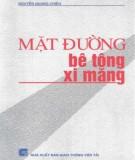 Ebook Mặt đường bê tông, xi măng: Phần 2 - Nguyễn Quang Chiêu