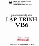 Giáo trình Nhập môn lập trình VB6: Phần 1