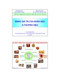 Bài giảng Mạng giá trị của nhãn hiệu và thương hiệu - TS. Đào Minh Đức