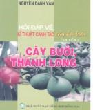 Ebook Hỏi đáp về kỹ thuật canh tác cây ăn trái (Quyển 2: Cây bưởi, thanh long): Phần 2
