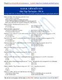 Liên kết Ion: Bài tập tự luyện Hóa học 10 - Đề 1