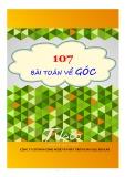 Hướng dẫn giải 107 bài toán về góc